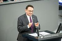 05 MAR 2021, BERLIN/GERMANY:<br /> Ulrich Lange, MdB, CDU, haelt eine Rede, Bundestagsdebatte zur Modernisierung des Personenbeförderungsrechts, Plenarsaal, Reichstagsgebäude, Deutscher BundestagIMAGE: 20210305-01-075