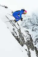Ski action and lifestyle photo shoot on location in Kühtäi and Galtür in Austria for the ski club of Great Britain.