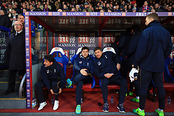 26 April 2017 - Premier League - Crystal Palace v Tottenham Hotspur - Tottenham Hotspur Manager Mauricio Pochettino alongside First team coach	Miguel D'Agostino - Photo: Marc Atkins / Offside.