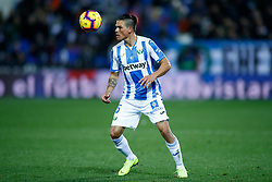 November 23, 2018 - Leganes, MADRID, SPAIN - Silva of Leganes during the Spanish Championship La Liga football match between CD Leganes and Deportivo Alaves on November 23th, 2018 at Estadio de Butarque in Leganes, Madrid, Spain. (Credit Image: © AFP7 via ZUMA Wire)