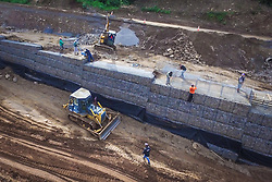 Banco de imagens das rodovias administradas pela EGR - Empresa Gaúcha de Rodovias. Obra em execução na ERS 115, trecho dos km 27 - 29. FOTO: Jefferson Bernardes/ Agencia Preview