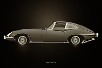 The 1960 Jaguar E Type is so British that if you place this painting of the 1960 Jaguar E Type in your interior you bring in the phlegm that goes with it. A nice painting to serve as an eye-catcher in your home or in your shop and showroom. The 1960 Jaguar E Type will certainly have a positive influence on your customers.<br /> <br /> This painting of a 1960 Jaguar E Type can be printed very large on different materials. –<br /> <br /> BUY THIS PRINT AT<br /> <br /> FINE ART AMERICA<br /> ENGLISH<br /> https://janke.pixels.com/featured/jaguar-e-type-black-and-white-jan-keteleer.html<br /> <br /> WADM / OH MY PRINTS<br /> DUTCH / FRENCH / GERMAN<br /> https://www.werkaandemuur.nl/nl/shopwerk/Jaguar-E-type/743604/132?mediumId=11&size=75x50<br /> <br /> -