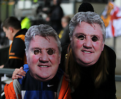Hull City fans before the match - Mandatory by-line: Jack Phillips/JMP - 14/05/2016 - FOOTBALL - iPro Stadium - Derby, England - Derby County v Hull City - Sky Bet Championship Play-Off Semi-Final First-Leg