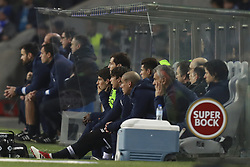 February 5, 2018 - Na - Porto, 02/03/2018 - Futebol Clube do Porto received the Sporting Clube de Braga tonight at Estádio do Dragão, in a game to count towards the 21st day of the I Liga 2017/18. Gonçalo Patience; Iker Casillas; Maxi; Yordan Osorio on the bench  (Credit Image: © Atlantico Press via ZUMA Wire)