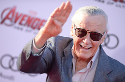 Stan Lee attends the premiere of Marvel's 'Avengers: Age Of Ultron' at Dolby Theatre in Los Angeles, CA, USA on April 13, 2015. Photo by Lionel Hahn/ABACAPRESS.COM