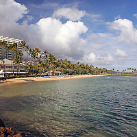 USA, Hawaii, Honolulu. Property of The Kahala Resort on Oahu.