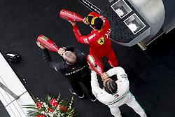 April 14, 2019 - Shanghai, China - Motorsports: FIA Formula One World Championship 2019, Grand Prix of China, ..Marcus Dudley (Mercedes AMG Petronas Motorsport), #44 Lewis Hamilton (GBR, Mercedes AMG Petronas Motorsport), #5 Sebastian Vettel (GER, Scuderia Ferrari Mission Winnow) (Credit Image: © Hoch Zwei via ZUMA Wire)