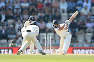 Virat Kohli of India batting during the fourth day of the 4th SpecSavers International Test Match 2018 match between England and India at the Ageas Bowl, Southampton, United Kingdom on 2 September 2018.