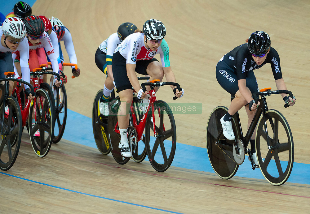 January 27, 2019 - Hong Kong, Hong Kong SAR, China - Kirsten Wild from the Netherlands wins the Women Ominum event.UCI Track Cycling World Cup Hong Kong 2019, Qualifiers Leg VI at the Hong Kong Velodrome in Tseung Kwan O ,Kowloon (Credit Image: © Jayne Russell/ZUMA Wire)