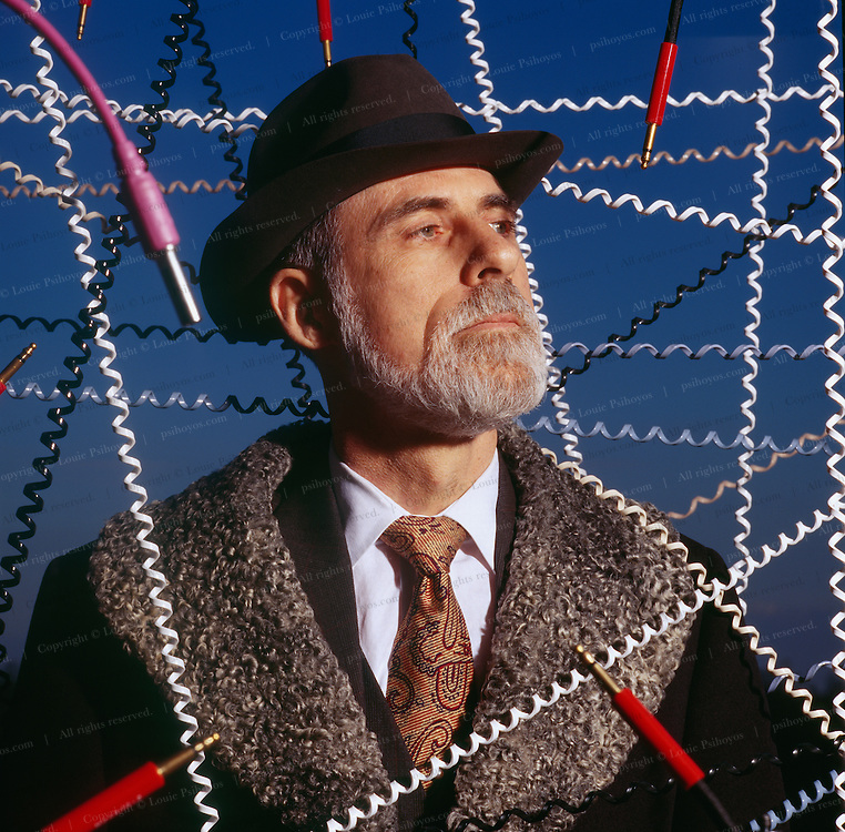 Vinton Cerf the co-designer of the internet. Along with Robert Kahn, backed by the U.S. Defense Department in 1973 they laid down the foundation that became the Net before it blew up into the civilian population.
