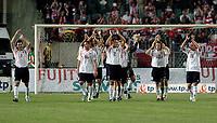 Fotball<br /> VM-kvalifisering<br /> 03.09.2005<br /> Polen v Østerrike<br /> Foto: Wrofoto/Digitalsport<br /> NORWAY ONLY<br /> <br /> Polish players celebrate after the winning against Austria