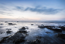 © Licensed to London News Pictures. 24/06/2015. Whitley Bay.UK. Picture shows Whitley bay in the early morning light. Forecasters are predicting a dry but cloudy day with sunny spells this morning. Photo credit : Andrew McCaren/LNP