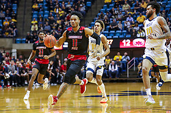 Dec 22, 2018; Morgantown, WV, USA; Jacksonville State Gamecocks forward Jacara Cross (11) drives down the lane during the first half against the West Virginia Mountaineers at WVU Coliseum. Mandatory Credit: Ben Queen-USA TODAY Sports