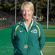 Nola Collins, Australia, Semi Finalist, 70 Womens Singles competition during the 2009 ITF Super-Seniors World Team and Individual Championships at Perth, Western Australia, between 2-15th November, 2009