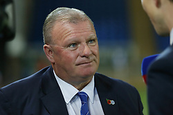 Peterborough United Manager Steve Evans - Mandatory by-line: Joe Dent/JMP - 09/10/2018 - FOOTBALL - ABAX Stadium - Peterborough, England - Peterborough United v Brighton and Hove Albion U21 - Checkatrade Trophy