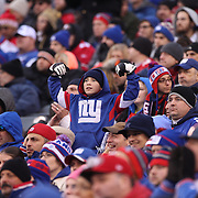 A young New York Giants fan in the crowd during the New York Giants V San Francisco 49ers, NFL American Football match at MetLife Stadium, East Rutherford, NJ, USA. 16th November 2014. Photo Tim Clayton