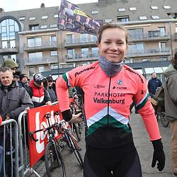 01-03-2020: Wielrennen: Hageland vrouwen: Tielt-Winge: Esther van Veen