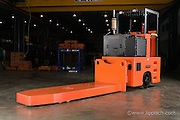 Custom designed and built industrial lift truck.