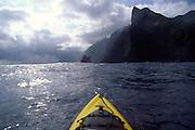 Kayaking, North Shore, Molokai<br />