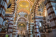 Notre-Dame de la Garde in Marseille, France.