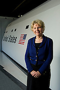 10/8/10 June Scobee Rodgers photographed at Challenger Learning Center at University of Tennessee-Chattanooga.<br /> <br /> <br /> Photo by Michael A. Schwarz