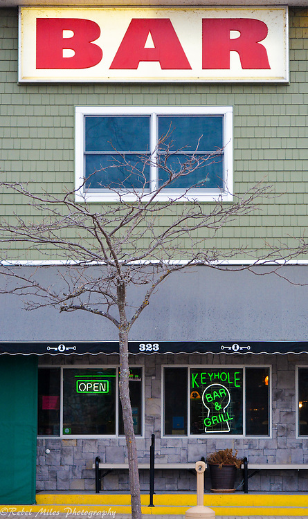 "Keyhole Bar, Mackinac City Michigan. Same Image As Bob Seger's ""Roll Me Away."""