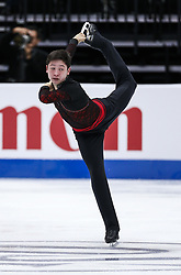 February 7, 2019 - Los Angeles, California, U.S - Micah Kai Lynette of Thailand competes in the Men Short Program during the ISU Four Continents Figure Skating Championship at the Honda Center in Anaheim, California on February 7, 2019. (Credit Image: © Ringo Chiu/ZUMA Wire)