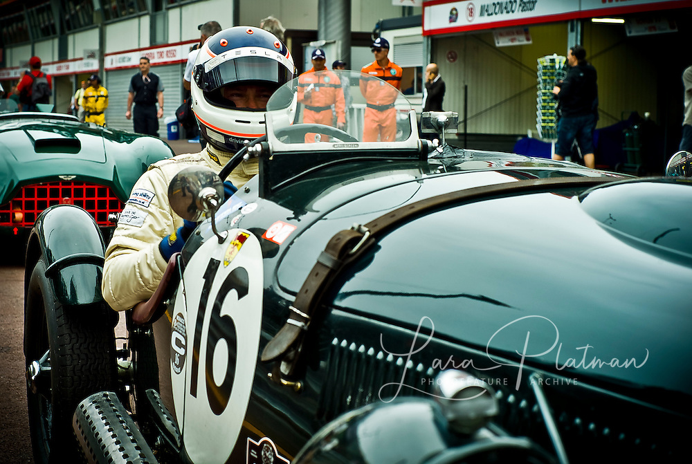 Grand Prix de Monte Carlo Historic 2012, James Wood, Frazer Nash le Mans Replica,