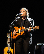 WASHINGTON, D.C. - DECEMBER 8th, 2010:  Wilco frontman Jeff Tweedy performs in front of a sold out crowd at the Lincoln Theater on U Street. Tweedy is currently playing select solo dates around the country. (Photo by Kyle Gustafson/For The Washington Post)