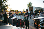 Shadow Drum and Bugle Corps performs in Whitewater, Wisconsin on July 16, 2016. <br /> <br /> Beth Skogen Photography - www.bethskogen.com