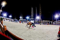 Guerdat Steve (SUI) - Zanzibar<br /> Masters  - Antwerpen 2014<br /> © Dirk Caremans