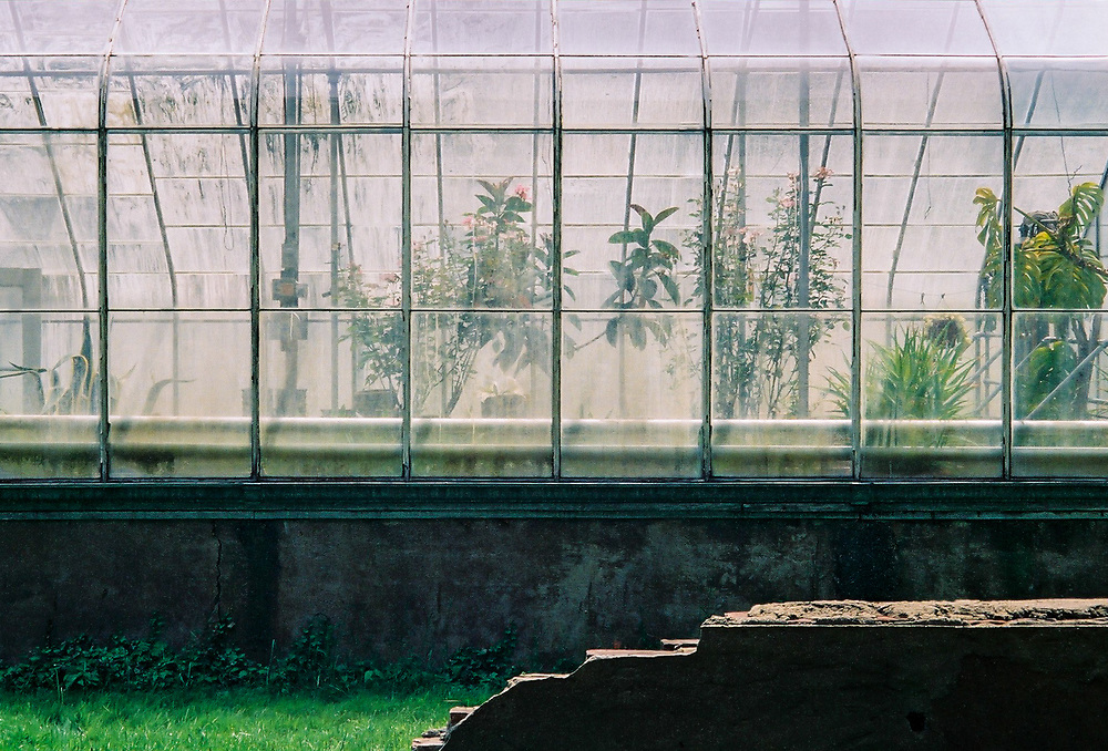 Greenhouse at Thomas Edison's home Glenmont