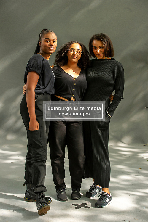 Pictured: Tania Nwachukwu, Hibaq Osman and Rachel Long<br /><br />Tania Nwachukwu is a Nigerian-British writer, poet and performer from London whose storytelling springs from profound, personal matters and from the lives and experiences of Black communities in Britain (see her project Black in the Day).<br /><br />Tania Nwachukwu is a Nigerian-British writer, poet and performer from London whose storytelling springs from profound, personal matters and from the lives and experiences of Black communities in Britain (see her project Black in the Day)<br /> Rachel Long is a poet and leader of Octavia – Poetry Collective for Women of Colour, which is housed at Southbank Centre, London. She was shortlisted for Young Poet Laureate for London in 2014, and awarded a Jerwood/Arvon Foundation mentorship in 2015. She is Assistant Tutor on the Barbican Young Poets <br /><br /><br />Ger Harley   EEm 18 August 2019