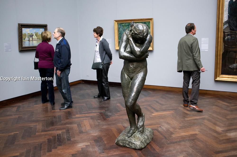 Sculpture at Stadel museum in Frankfurt Germany