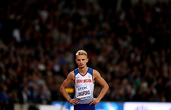 Great Britain's Kyle Langford during the Men's 800m Final during day five of the 2017 IAAF World Championships at the London Stadium.
