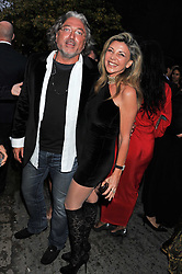 ROBERT TCHENGUIZ and his sister LISA TCHENGUIZ at the annual Serpentine Gallery Summer Party sponsored by Burberry held at the Serpentine Gallery, Kensington Gardens, London on 28th June 2011.