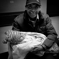 Roger and his father. Oregon orthopedic doctors and support staff helped hundreds of Peruvian children in Coya, Peru performing corrective surgeries and therapy to improve their quality of life.