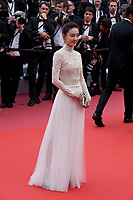 Wang Likun at the Yomeddine gala screening at the 71st Cannes Film Festival, Wednesday 9th May 2018, Cannes, France. Photo credit: Doreen Kennedy