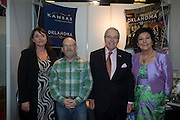 21/1/16  US Ambassador Kevin O'Malley at the Kansas Oklahoma Tourism stand at the Holiday World Show in the RDS in Dublin. Picture: Arthur Carron