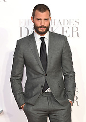 Jamie Dornan  arriving for the Fifty Shades Darker European Premiere held at Odeon Leicester Square, London. Picture date: Thursday February 9, 2016. Photo credit should read: Doug Peters/ EMPICS Entertainment