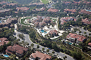 Aerial Of Laguna Beach Neighborhood