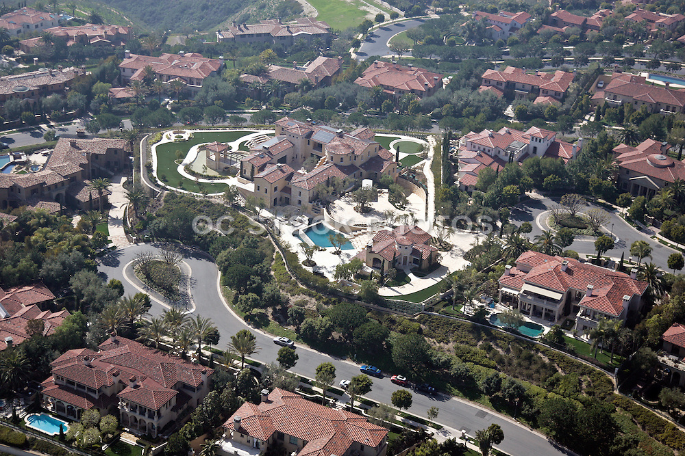 Aerial Of Laguna Beach Neighborhood