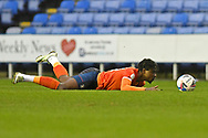 Pelly Ruddock of Luton Town during the EFL Sky Bet Championship match between Reading and Luton Town at the Madejski Stadium, Reading, England on 26 December 2020.