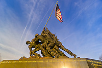 Iwo Jima Memorial (in Arlington, Virginia), Washington D.C., U.S.A.