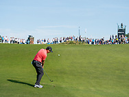 Sergio Garcia (ESP) in action on the 10th hole during the 3rd round at the KLM Open, The International, Amsterdam, Badhoevedorp, Netherlands. 14/09/19.<br /> Picture Stefano Di Maria / Golffile.ie<br /> <br /> All photo usage must carry mandatory copyright credit (© Golffile   Stefano Di Maria)