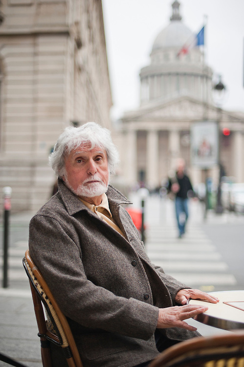 """Surgeon Jacques Bérès, 71 years old, in his appartment in Paris. The co-founder of Doctors Without Borders and Doctors of the World, is just back from an illegal stay in Homs, Syria, where he was the only Western doctor. He operated on 89 wounded in 12 days. 9 patients died on the operating table. Bérès has 40 years of war experience, but says the carnage in Syria is the most horrific he has witnessed: """"it is a hell, It's mass murder."""" he said."""