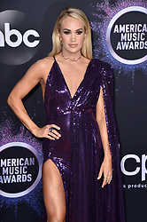 Carrie Underwood attends the 2019 American Music Awards at Microsoft Theater on November 24, 2019 in Los Angeles, CA, USA. Photo by Lionel Hahn/ABACAPRESS.COM