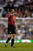 Fotball<br /> England 2005/2006<br /> Foto: SBI/Digitalsport<br /> NORWAY ONLY<br /> <br /> Manchester United v Debrecen VSC. UEFA Champions League Qualifier.<br /> 09/08/2005.<br /> <br /> Manchester United's Roy Keane