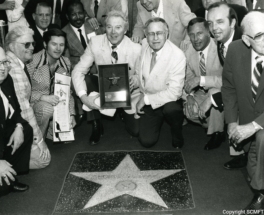 1982 George Putnam's Walk of Fame ceremony