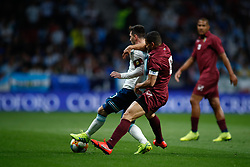 March 22, 2019 - Madrid, MADRID, SPAIN - Leo Messi of Argentina and Tomas Eduardo Rincon of Venezuela during the international friendly football match played between Argentina and Venezuela at Wanda Metropolitano Stadium in Madrid, Spain, on March 22, 2019. (Credit Image: © AFP7 via ZUMA Wire)